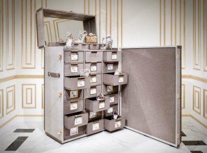 Memento Trunk - Jimmy Choo's Amazing Shoe Cabinet Design jimmy choo Memento Trunk – Jimmy Choo's Amazing Shoe Cabinet Design 00000 420x311