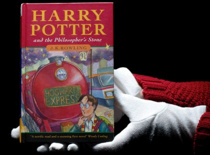 Discover 124k rare book of 'Harry Potter and the Philosopher's Stone'