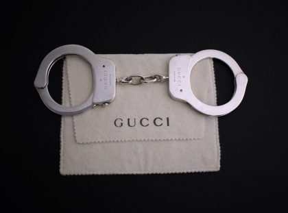 Millionaire pair of Gucci handcuffs for Valentines day