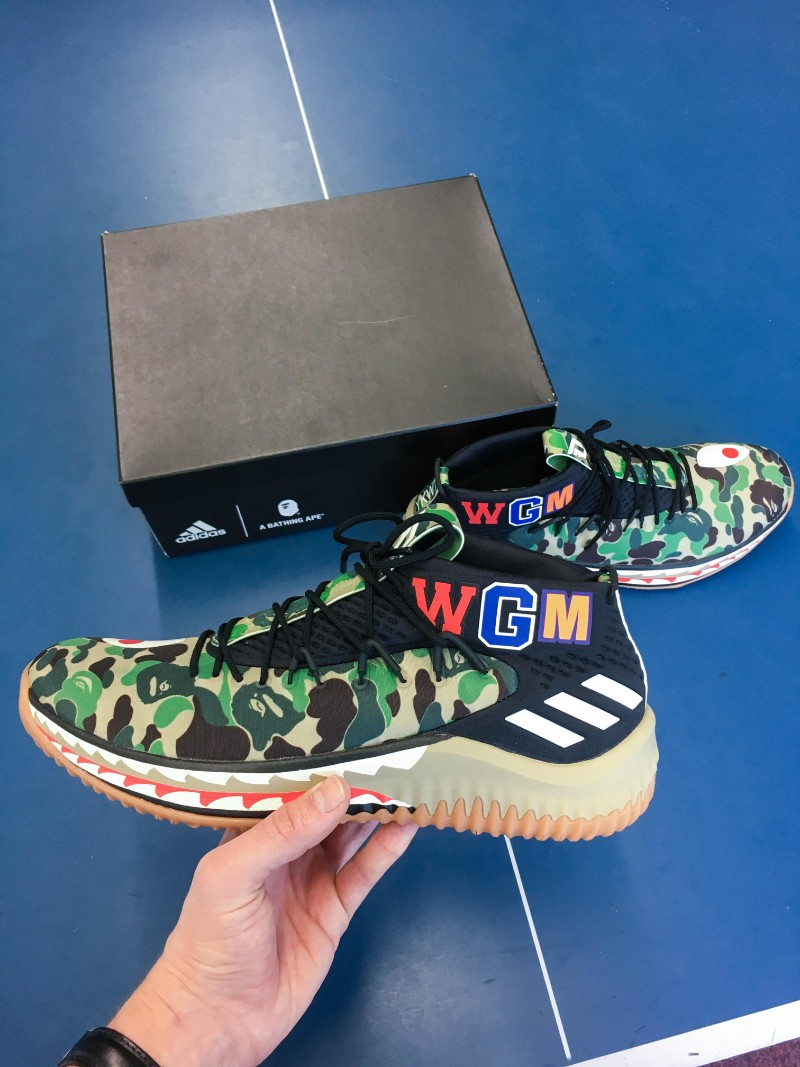 bape x adidas Exclusive Design: Bape x Adidas Dame Exclusive Design Bape x Adidas Dame11
