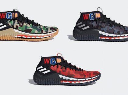 Exclusive Design: Bape x Adidas Dame bape x adidas Exclusive Design: Bape x Adidas Dame Exclusive Design Bape x Adidas Dame8 1 420x311