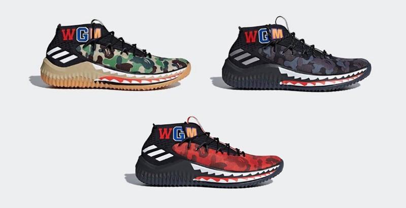 bape x adidas bape x adidas Exclusive Design: Bape x Adidas Dame Exclusive Design Bape x Adidas Dame8