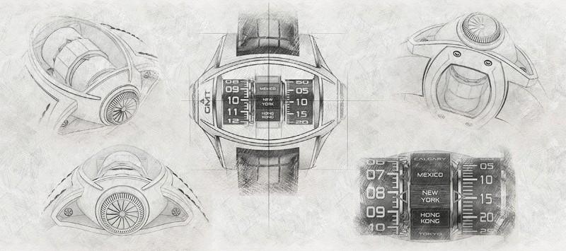 timepiece timepiece Germain Baillot's Aeronautics Inspired Timepiece Germain Baillot   s Aeronautics Inspired Timepiece5