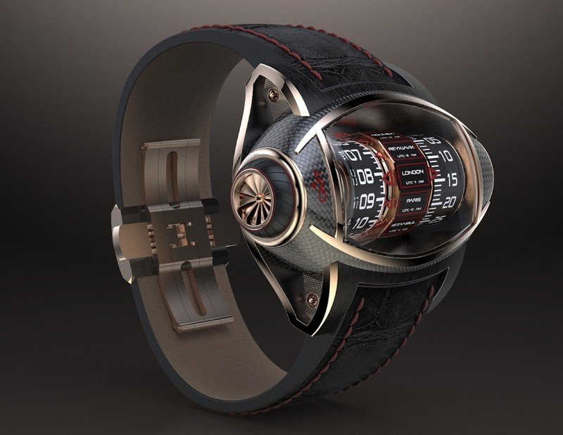 timepiece Germain Baillot's Aeronautics Inspired Timepiece Germain Baillot   s Aeronautics Inspired Timepiece6