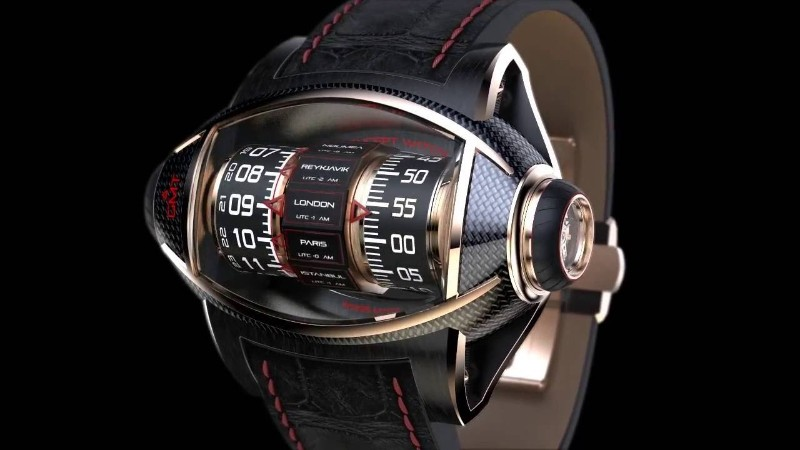 timepiece Germain Baillot's Aeronautics Inspired Timepiece Germain Baillot   s Aeronautics Inspired Timepiece7