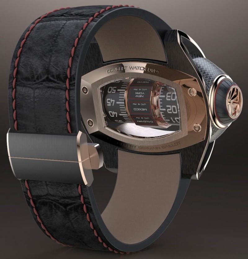 timepiece Germain Baillot's Aeronautics Inspired Timepiece Germain Baillot   s Aeronautics Inspired Timepiece8