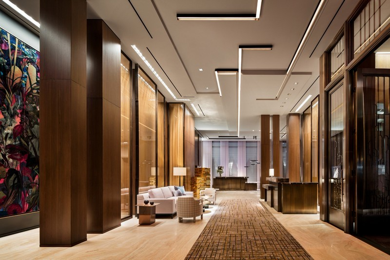 Yabu pushelberg exquisite four seasons new york downtown design limited edition for Top interior design firms in nyc