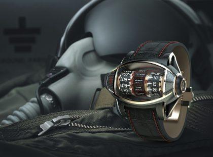 Germain Baillot's Aeronautics Inspired Timepiece