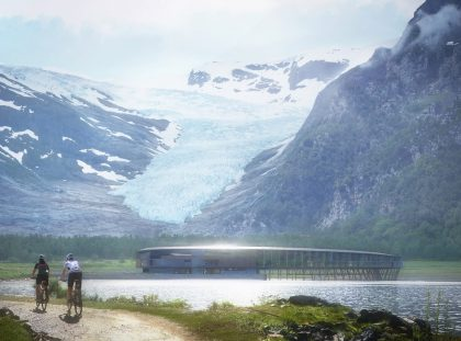 Sneak Peek: First Arctic Circle Hotel by Snøhetta