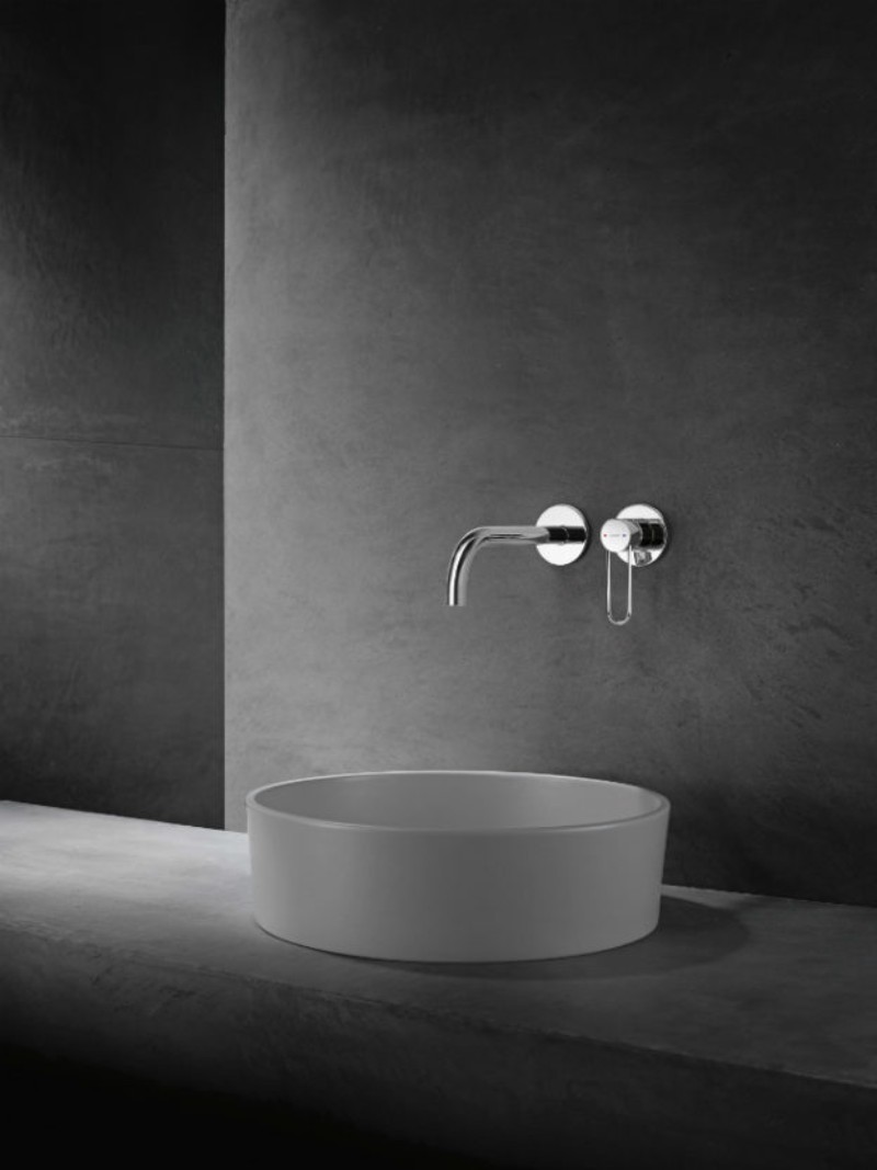 axor Discover Luxury Bathrooms with AXOR AXOR Uno Wallmounted Lever Handle Chrome 624x832