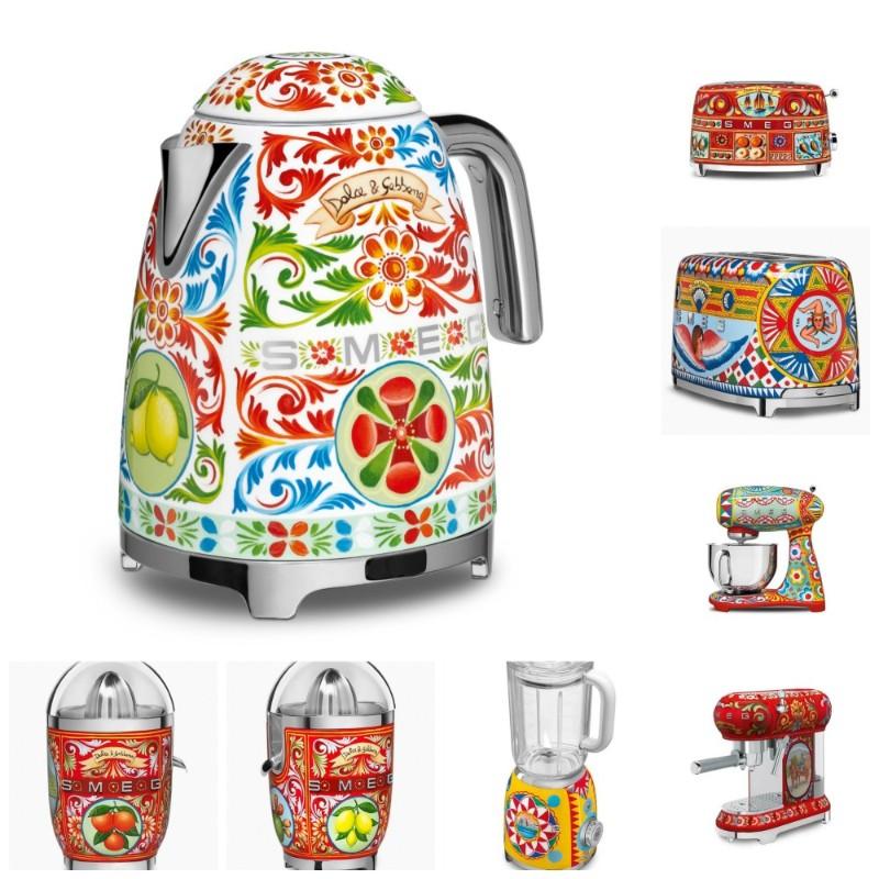 Colorful Kitchen Appliances By Smeg Dolce Gabbana Design Limited Edition