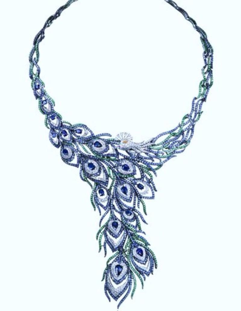 boucheron The Boucheron Peacock Ring That Impressed Jewellery Addicts Jeff Koons x Louis Vuitton Collaboration Recreates Classic Paintings 1