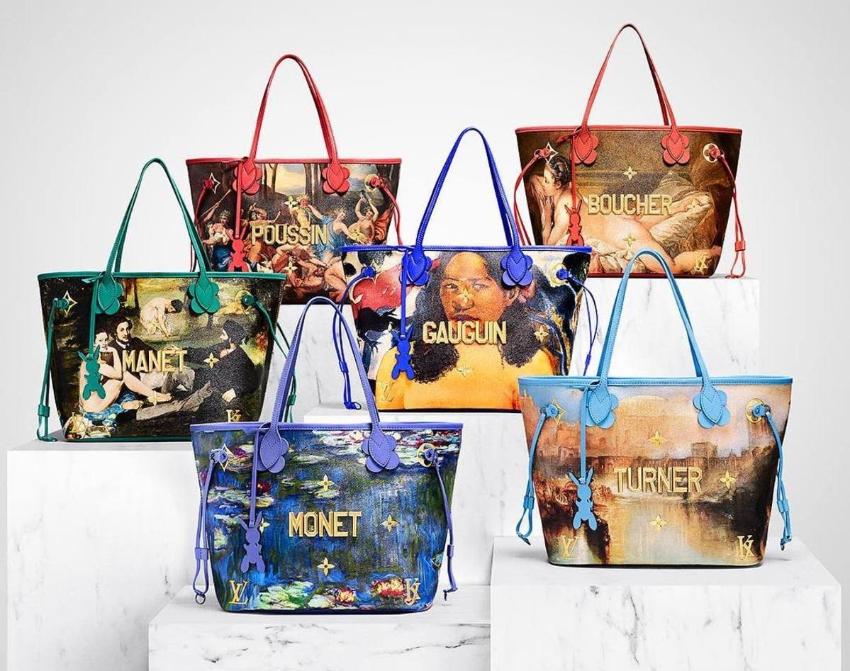 exclusive designs Exclusive Designs: Jeff Koons x Louis Vuitton Bags Louis Vuitton Jeff Koons Master series loqueva 7 1