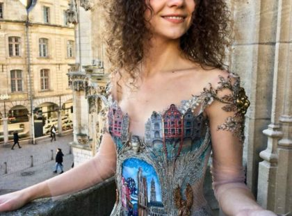 Evening Dresses Inspired By Antique Architecture