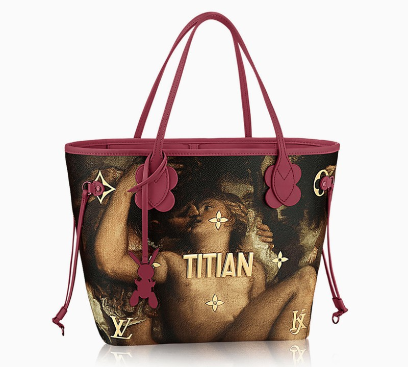 exclusive designs Exclusive Designs: Jeff Koons x Louis Vuitton Bags jeff koons louis vuitton masters collection designboom 07