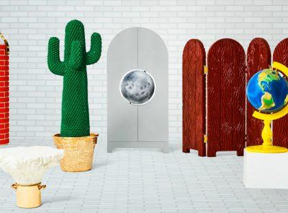 Limited Edition Furniture for Gufram's range designed by Studio Job