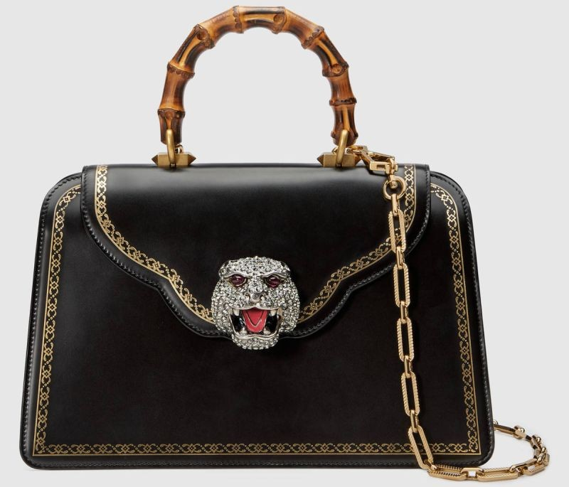 Limited Edition: New Bamboo Bag by Gucci gucci Limited Edition: New Bamboo Bag by Gucci Limited Edition New Bamboo Bag by Gucci 1