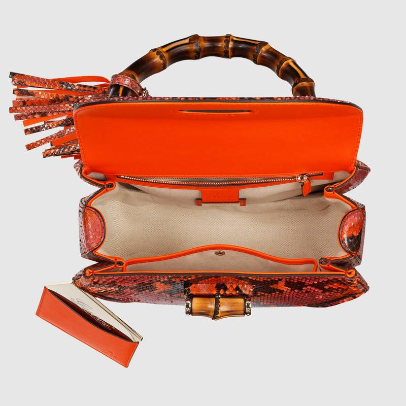 gucci Limited Edition: New Bamboo Bag by Gucci Limited Edition New Bamboo Bag by Gucci 10
