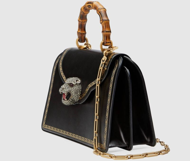 gucci Limited Edition: New Bamboo Bag by Gucci Limited Edition New Bamboo Bag by Gucci 4