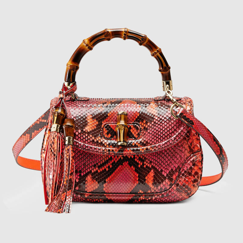 Limited Edition: New Bamboo Bag by Gucci gucci Limited Edition: New Bamboo Bag by Gucci Limited Edition New Bamboo Bag by Gucci 6