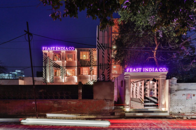 wes anderson Luxury Restaurant inspired by Wes Anderson Work THE PINK ZEBRA RENESA 21 810x540