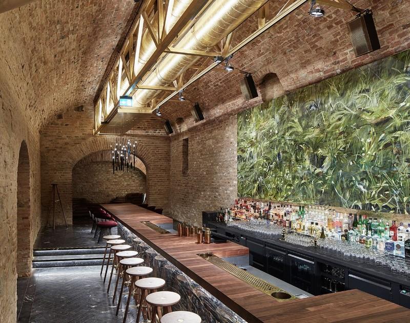 luxury interiors Luxury Interiors – Glamorous Krypt Bar in Vienna f4 krypt bar vienna austria buro klk photo david schreyer yatzer
