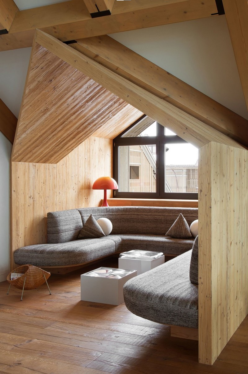 pierre yovanovitch Pierre Yovanovitch Modern Chalet in the Swiss Alps modern chalet inspiration 8