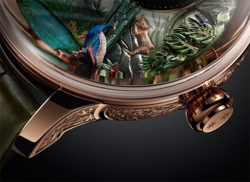 timepiece Jaquet Droz Unveils Tropical Bird Timepiece 4e5fb9f4d43bad1fa8ab35527baafa1c
