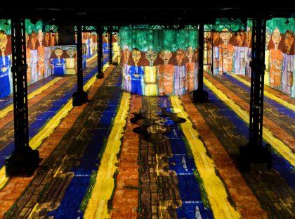Atelier des Lumières Marks Opening with Gustav Klimt