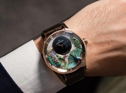 Jaquet Droz Unveils Tropical Bird Timepiece