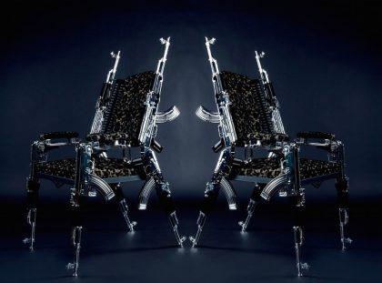 Limited Edition: Original Design AK47 Chair