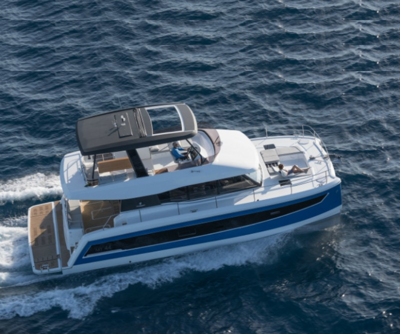 Singapore Yacht Show singapore yacht show Must Visit: Singapore Yacht Show 2018 Singapore Yacht Show 2018 Returns Fountain Pajot MY 44 luxuo 660 1