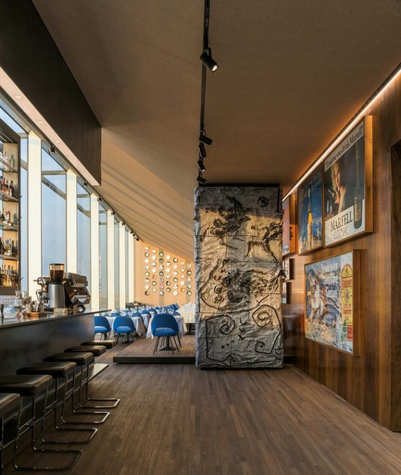 fondazione prada Fondazione Prada Opens Luxury Restaurant fondazione prada ispirations 1  2