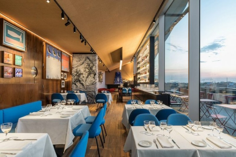 Fondazione Prada fondazione prada Fondazione Prada Opens Luxury Restaurant fondazione prada ispirations 11 768x513 1