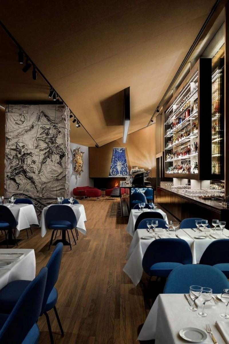 FondazionePrada fondazione prada Fondazione Prada Opens Luxury Restaurant fondazione prada ispirations 2 682x1024 1