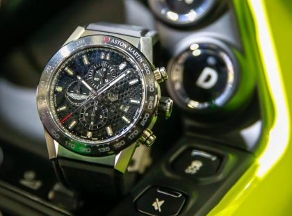 Tag Heuer & Aston Martin: Special Edition Timepiece Celebrates Luxury Partnership tag heuer Tag Heuer & Aston Martin: Special Edition Timepiece Celebrates Luxury Partnership reloj tag heuer aston martin carrera 1 420x311