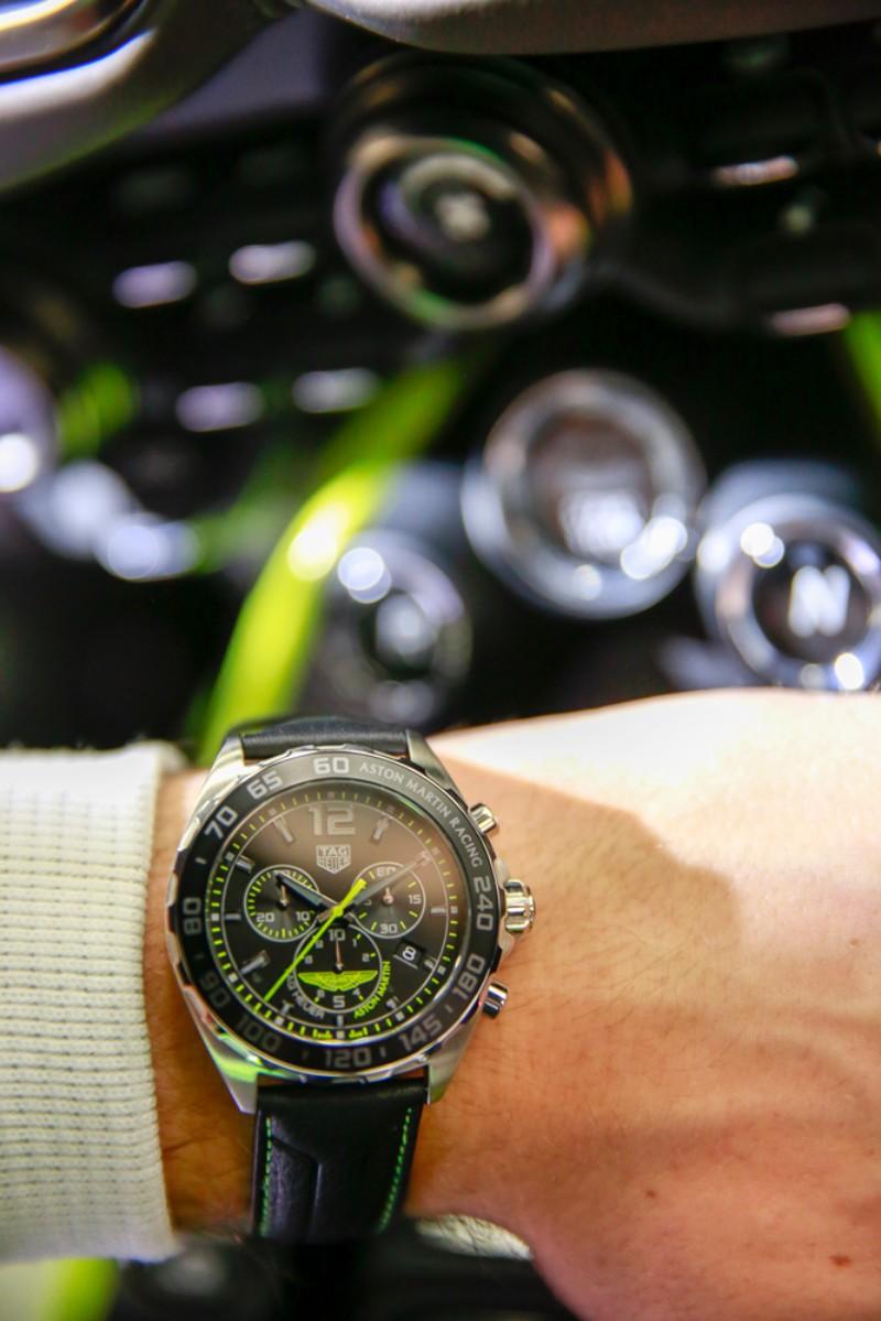 tag heuer Tag Heuer & Aston Martin: Special Edition Timepiece Celebrates Luxury Partnership tagheuer formula 1 aston martin 2018 5