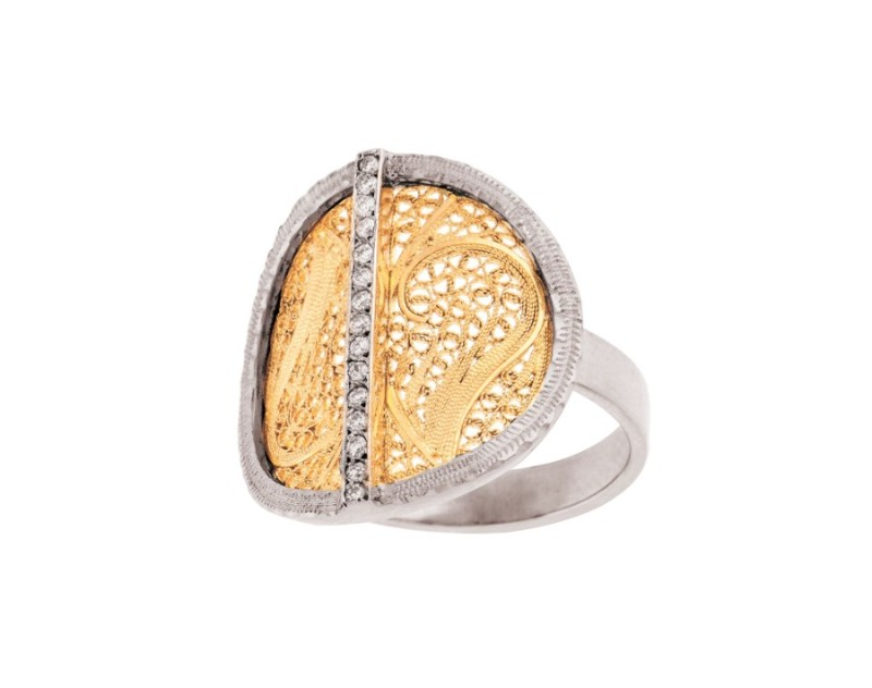 filigree Must See The Design and Craftsmanship Testimony: Filigree Jewelry Deco Filigree Ring by Eleuterio 2