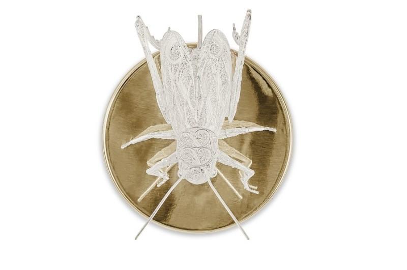 filigree Must See The Design and Craftsmanship Testimony: Filigree Jewelry Filigree Cricket Wall Lamp by Boca do Lobo  3 1