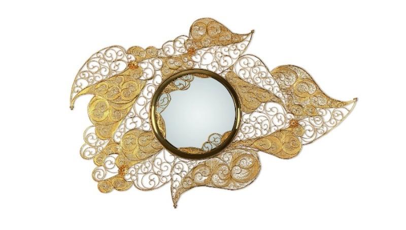 filigree Must See The Design and Craftsmanship Testimony: Filigree Jewelry Filigree Mirror by Boca do Lobo 3 1