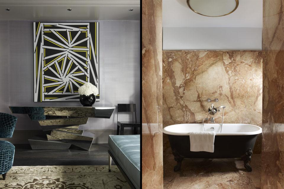 design project design project Inside Rafael De Cárdenas Design Project: Glebe Place Residence Glebe Place London Residence furniture details and bathtub 960x640