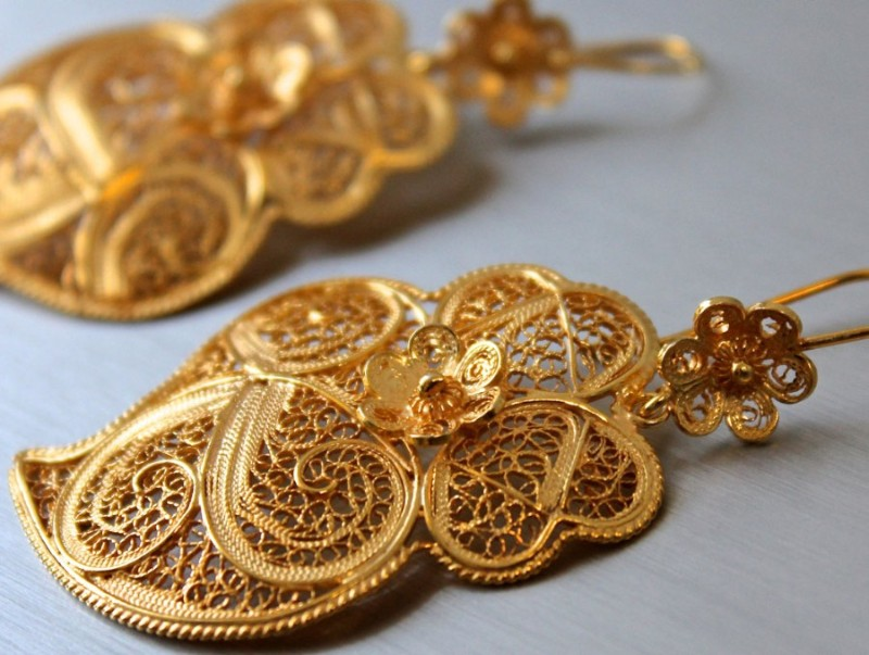 filigree Must See The Design and Craftsmanship Testimony: Filigree Jewelry Silver Filigree by Rota do Ouro 2