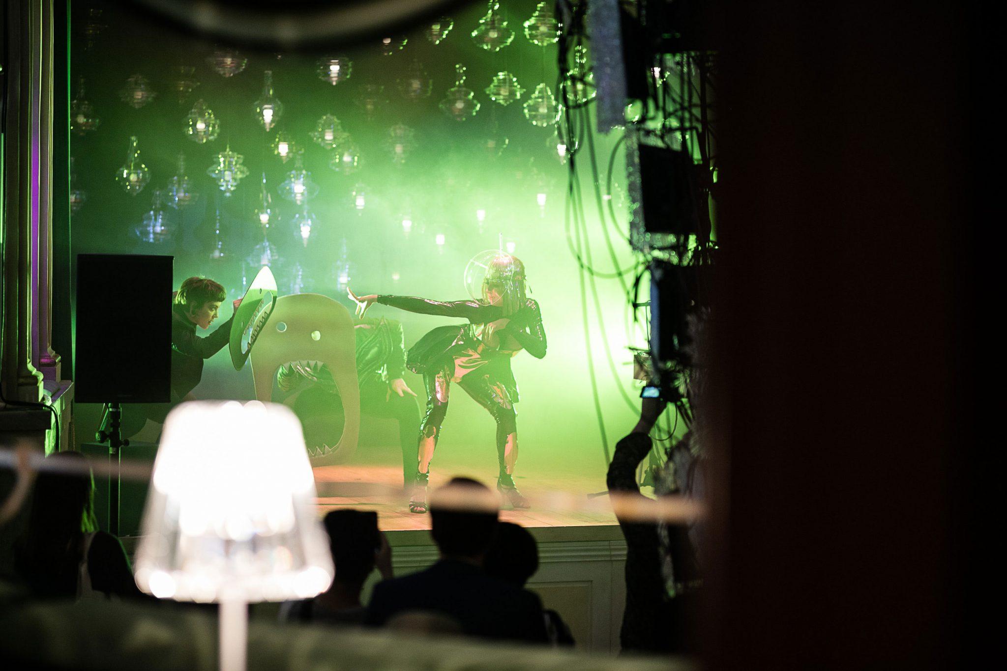 lasvit Monster Cabaret, A Phantasmagorical Show by Lasvit p9 lasvit monster cabaret milan teatro gerolamo yatzer