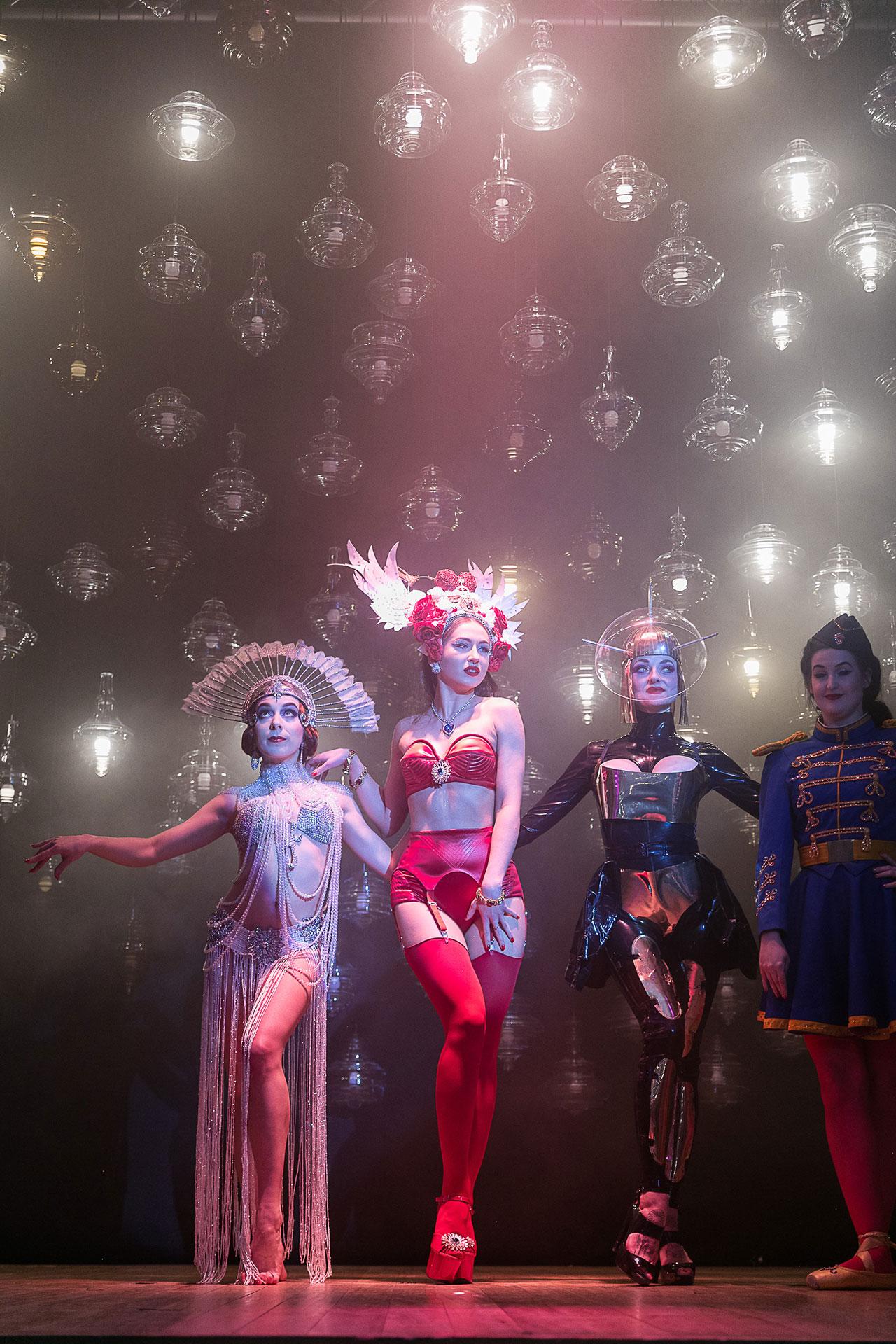 lasvit Monster Cabaret, A Phantasmagorical Show by Lasvit s4 lasvit monster cabaret milan teatro gerolamo yatzer