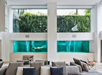 Art Collector: Apartment Showcases its Pool