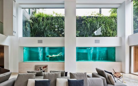 Art Collector Art Collector: Apartment Showcases its Pool Art Collectors Apartment Showcases its Pool 1   480x300