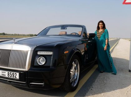 luxury cars Luxury Cars Inside Dubai's First All-Female Luxury Cars Club DJ 280617 WK Motoring profile Mazouzi 20054 420x311