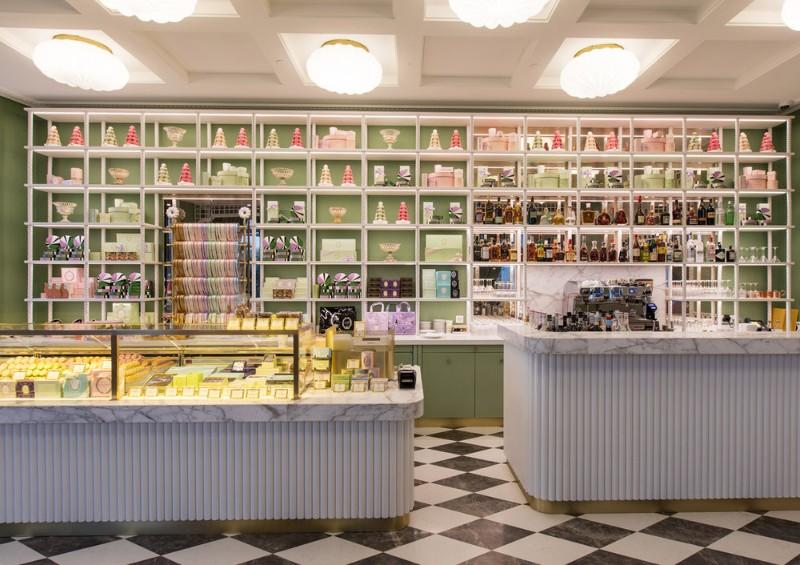 Ladurée Inside the New Ladurée Bakery Interior Decor Ladur  epatisserieGeneva