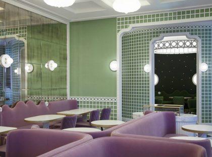 Inside the New Ladurée Bakery Interior Decor