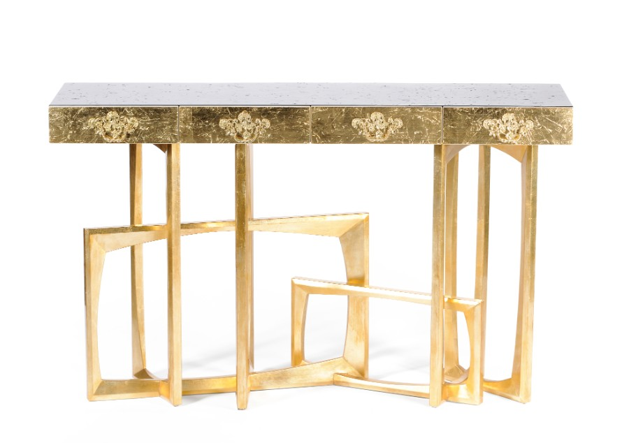 luxury furniture Luxury Furniture Behind The Scenes: The Leaf Gilding Technique metropolis 01